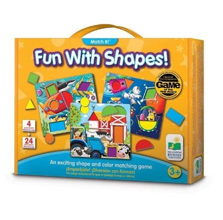 The Learning Journey Match It: Fun With Shapes