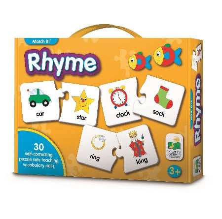 The Learning Journey Match It: Rhyme
