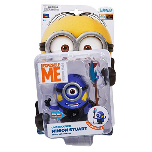 Despicable Me Undercover Minion Stuart