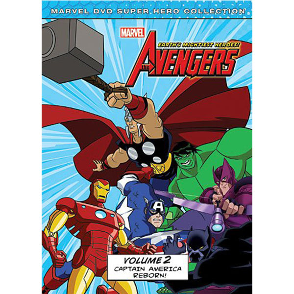 Marvel The Avengers: Earth's Mightiest Heroes DVD