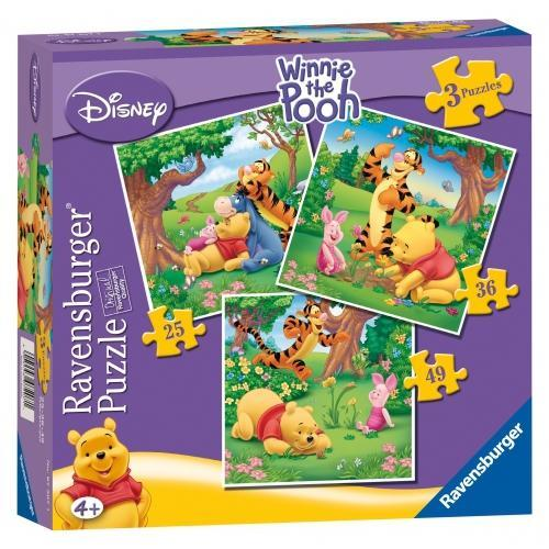 Ravensburger 3 in a Box Puzzle-Winnie the Pooh