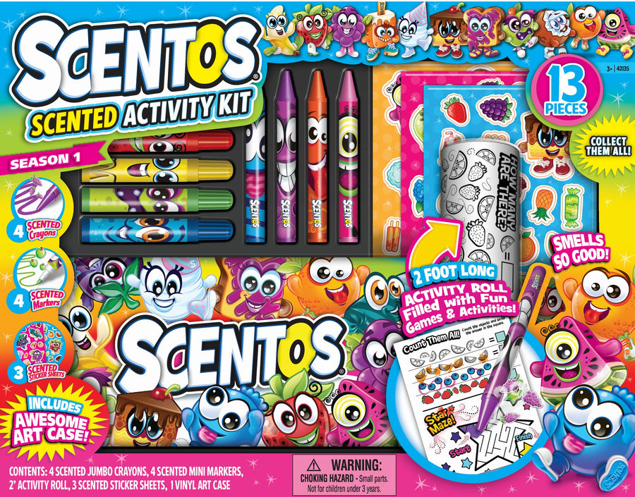 Scentos Scented Activity Kit 13 Pieces