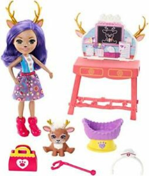 Enchantimals Caring Vet Playset