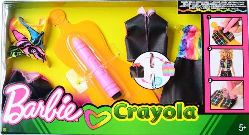 Barbie Loves Crayola Rainbow Design Asst