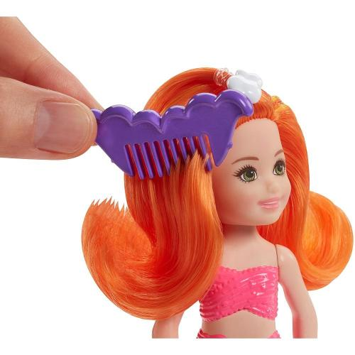 Barbie Mini Mermaid Doll-Orange Hair