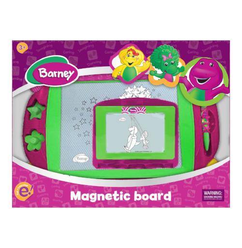 Barney Magnetic Board
