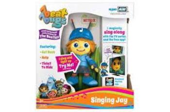 Hijinx Beat Bugs Singing Figurines Asst