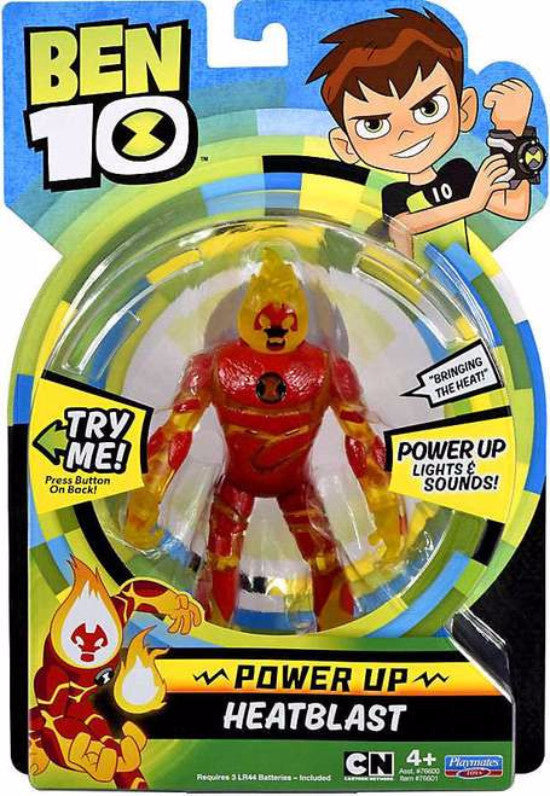 Ben 10 Deluxe Action Figurine with Lights and Sounds