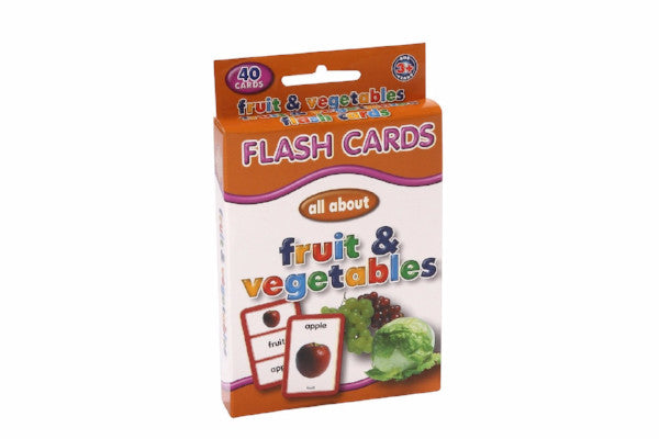 EDUCAT - FRUIT VEG FLASH CARDS