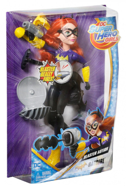 Dc Super Hero Girls-Blaster Action Batgirl