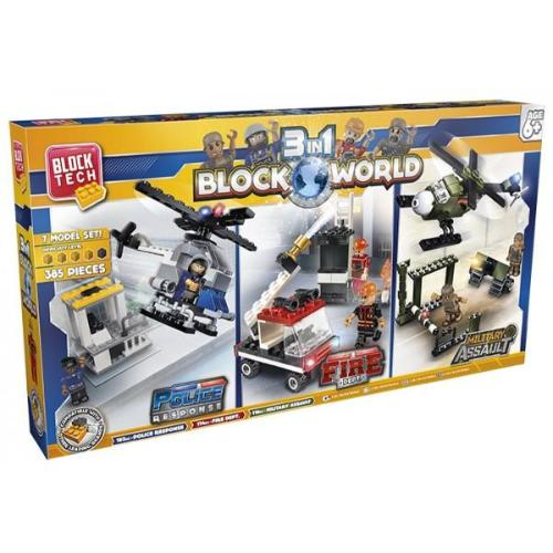 BlockTech-3 IN 1 Block World