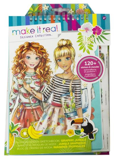 Make It Real- Fashion Design Sketchbook Asst