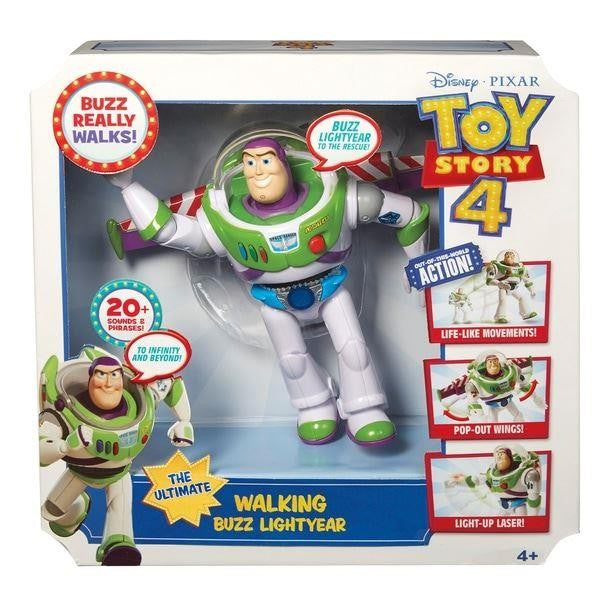Disney Pixar Toy Story 4 Walking Buzz Lightyear