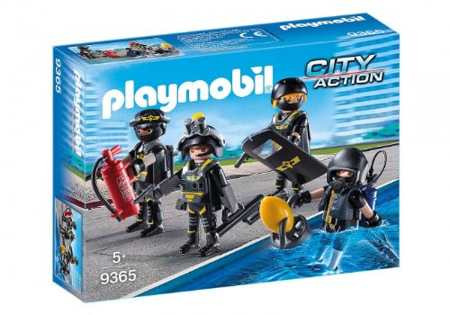 Playmobil City Action Tactical Unit Team 9365