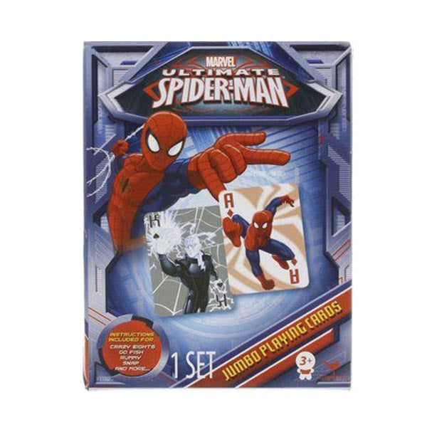 Marvel Ultimate Spider-Man Jumbo Playing Cards