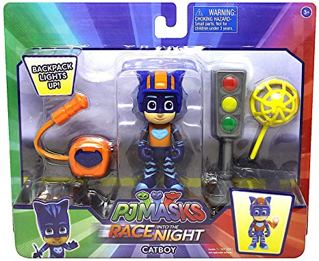 PJ Masks Race into the Night Figure Set