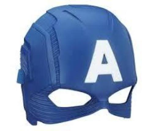 Marvel Avengers Civil War Captain America Hero Mask Asst