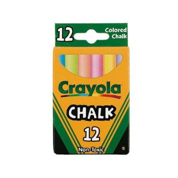 Crayola 12 Anti Dusk Chalk
