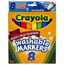 Crayola Washable Markers (8 pack)