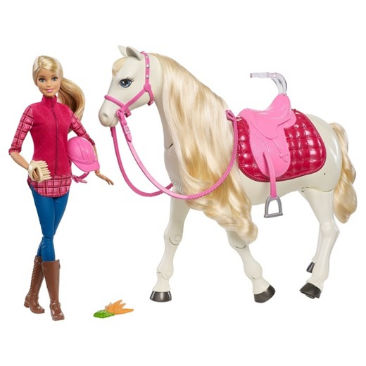 Barbie Doll with Dream Horse