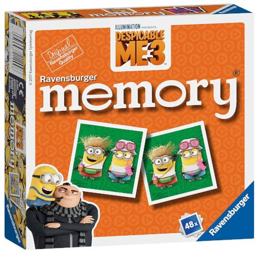 Ravensburger Memory Game-Despicable Me 3 Minions