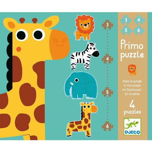 Djeco Primo In The Jungle Puzzle