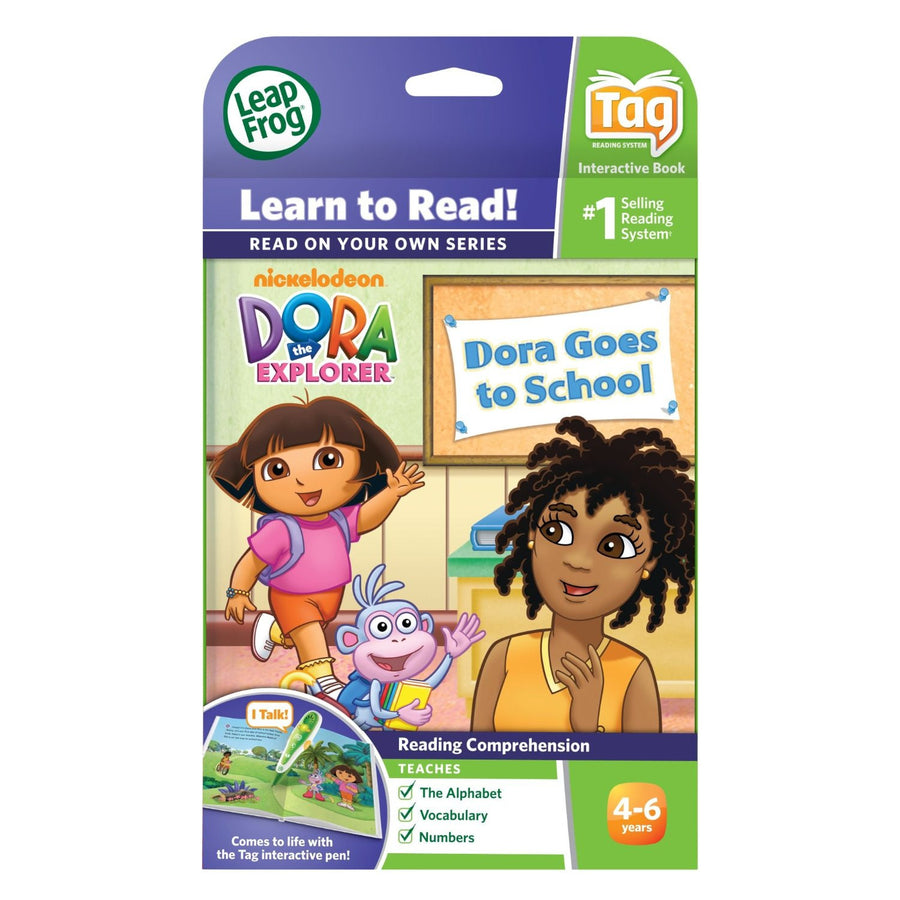 LeapFrog LeapReader Book: Dora Goes to School 29127
