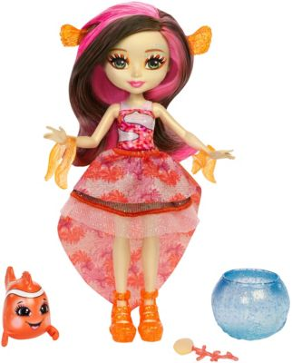 Enchantimals Water Feature Dolls With Animals