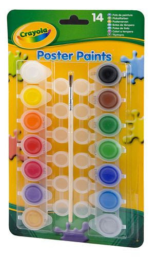 Crayola 14 Poster Paints