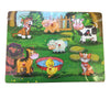 Educo Farm Wooden Peg Puzzle
