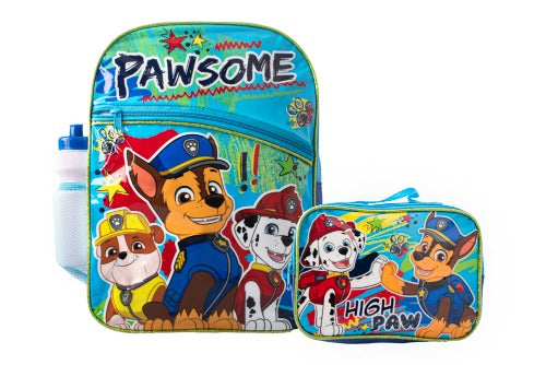 Paw Patrol Boys Combo Backpack Set
