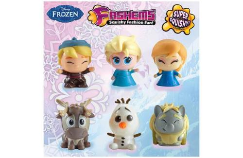Disney Frozen Fashems Squishy Fashion Fun 1 Pack