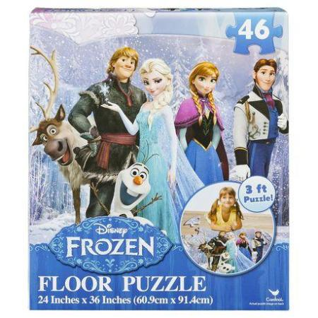 Frozen Floor Puzzle 46 Piece