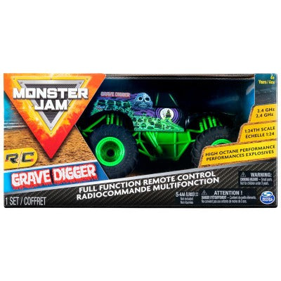 Monster Jam RC 1:24 Monster Trucks Asst