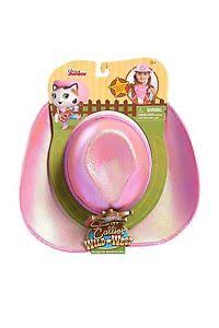 Disney Junior Sheriff Callie Cowgirl Hat with Removable Badge