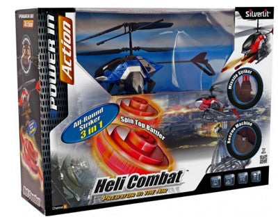 Power In Action Heli Combat Predator In The Air