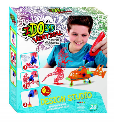 IDo3D Vertical 4 3D Pens Design Studio