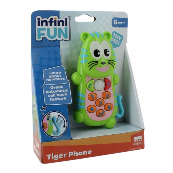 Infini Fun- Tiger Phone