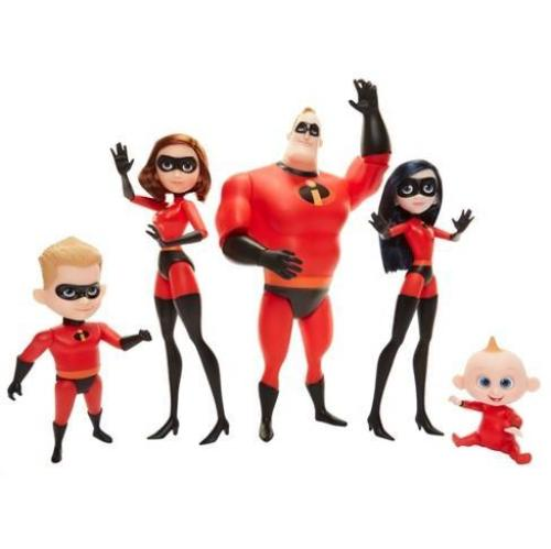 Assorted Incredibles Characters