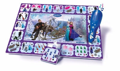 Disney Frozen Interactive Quiz Puzzle