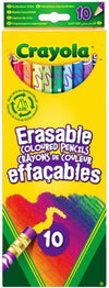Crayola Erasable Coloured Pencils: 10-Pack