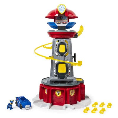 Paw Patrol – New Mighty Pups Lookout Tower Playset