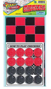 JA-RU Pocket Travel Checkers
