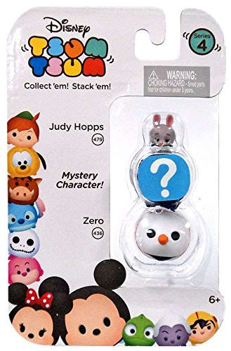 Disney Tsum Tsum 3-Pack Series 4