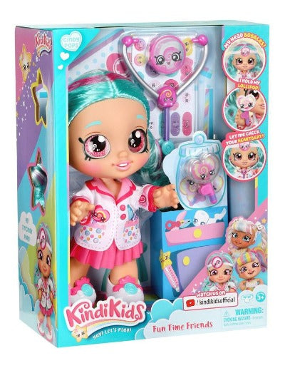 Kindi Kids Fun Time Doll - Dr Cindy Pops
