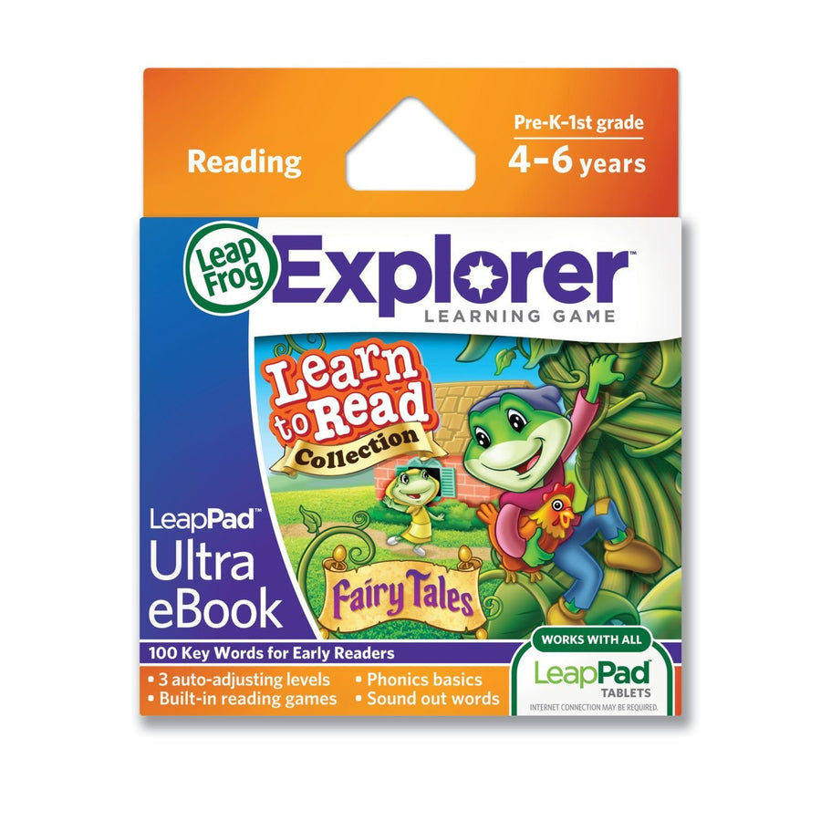 LeapFrog LeapPad Ultra eBook Learn to Read Collection: Fairy Tales 32017