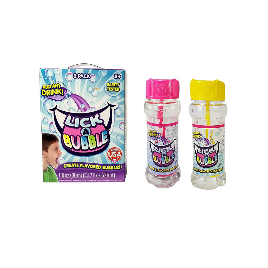 Lick A Bubble 2 Pack