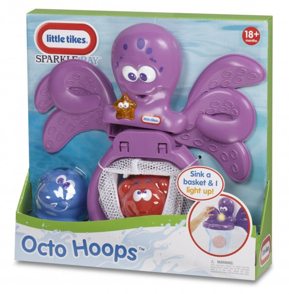 Little Tikes Sparkle Bay Octo Hoops