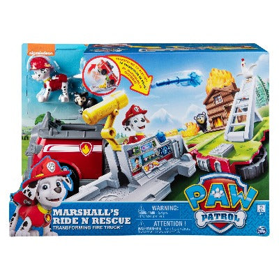 PAW PATROL RIDE 'N RESCUE VEHICLES