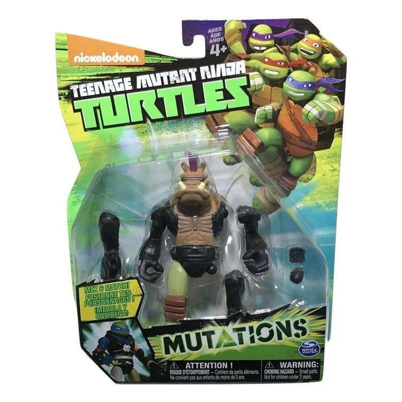 TMNT Mutations Mix & Match Bebob